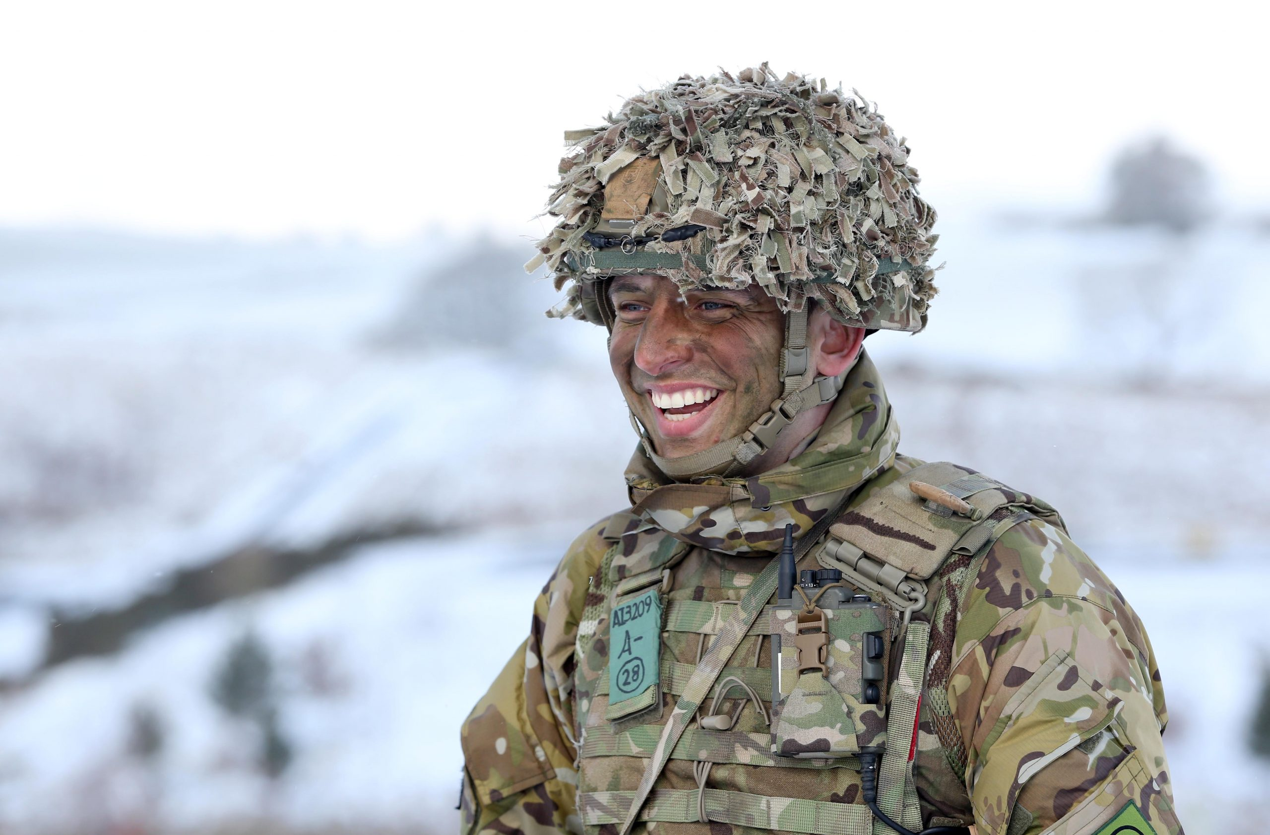 Ellison Ainsworth from Keighley at Warcop Training Area