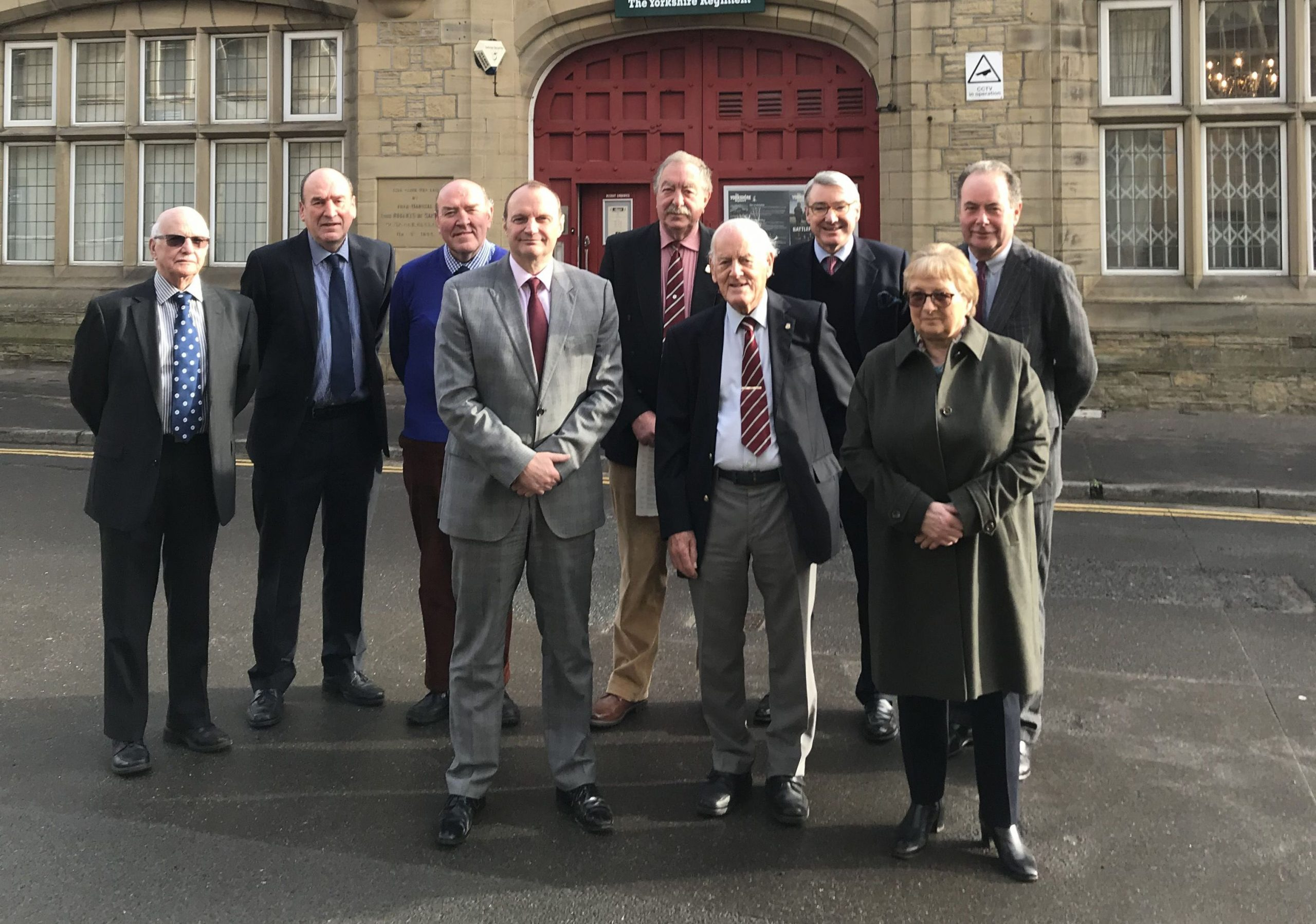 Members of the RFCA finance advisory board