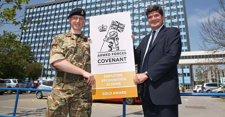 Gold award winners East Yorkshire NHS Trust
