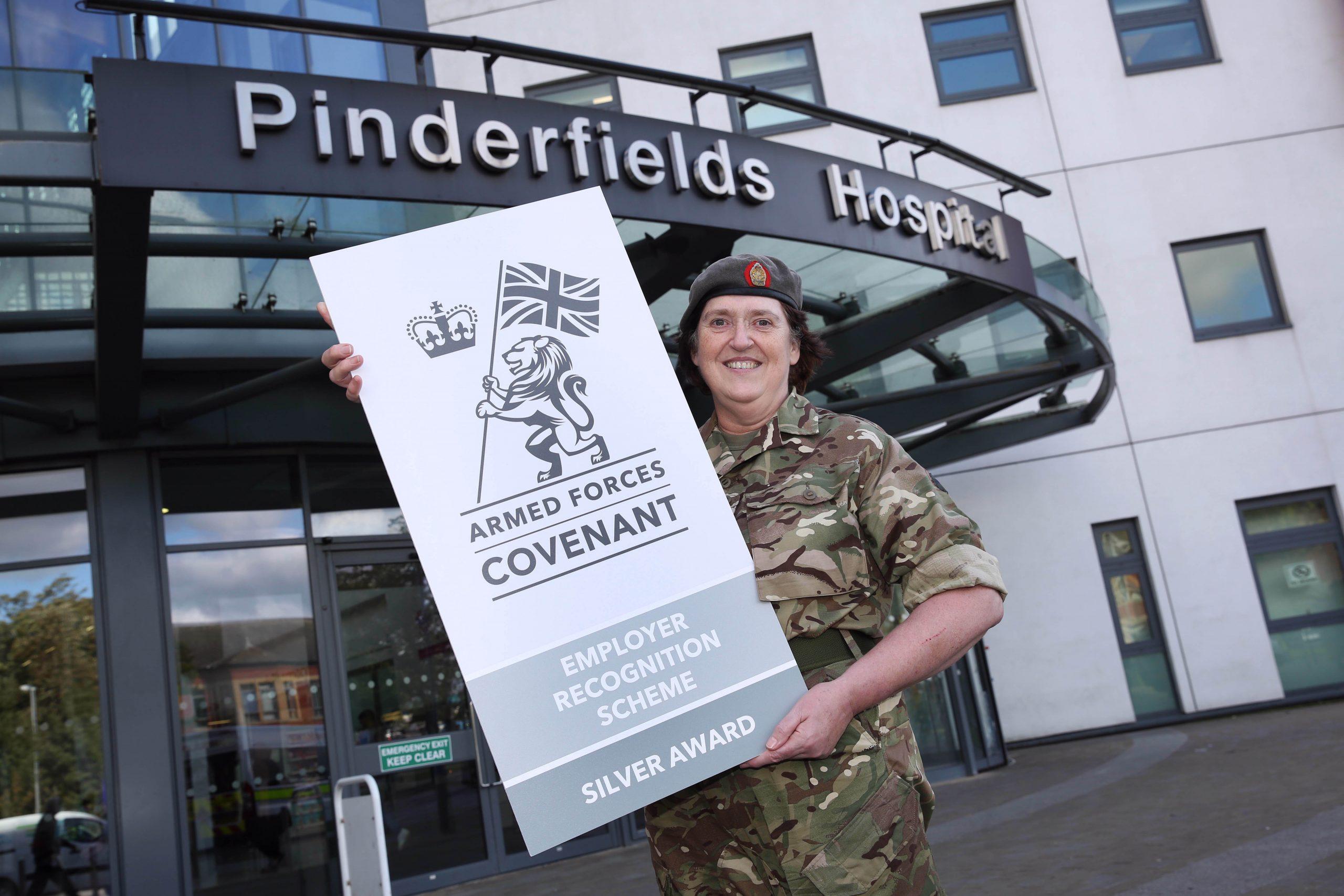 Reservist Carine Horsburgh from Pinderfields Hospital