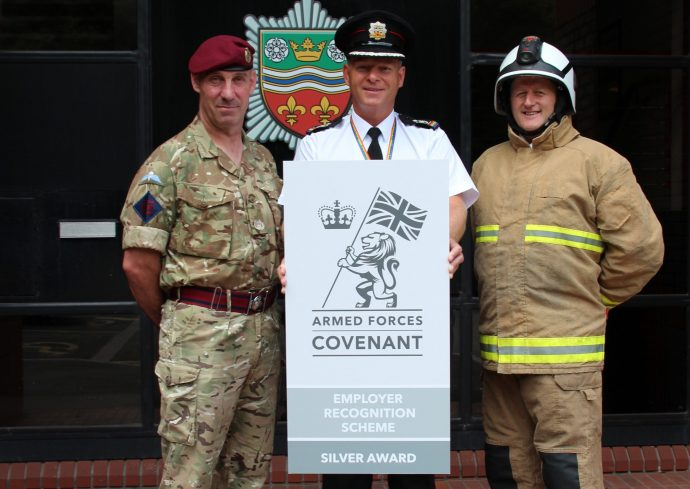Silver award winners Humberside Fire and Rescue