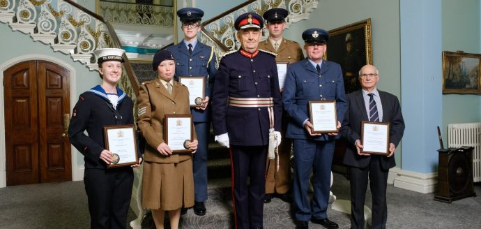 Recipients of the South Yorkshie Lord-Lieutenant Awards 2019