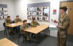 Cadets in the classroom at the new cadet centre in Stokesley