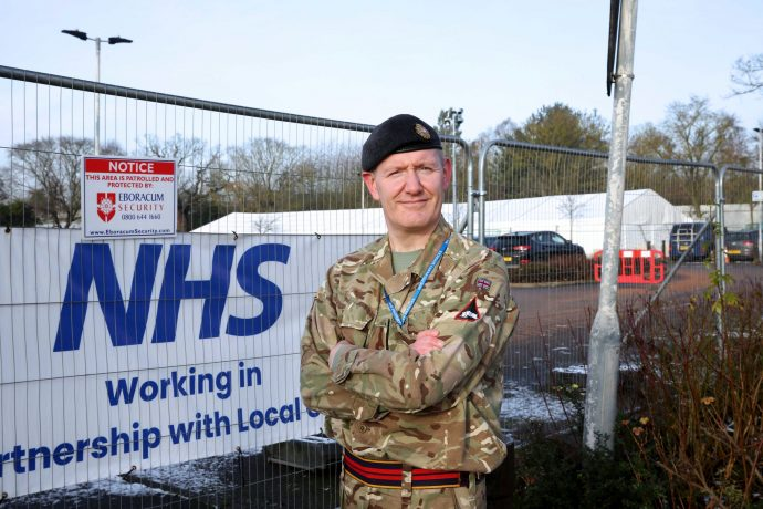 Army reserve and RFCA schools cadet expansion officer Gerard Hardy
