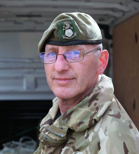 Reservist Dave Midgley