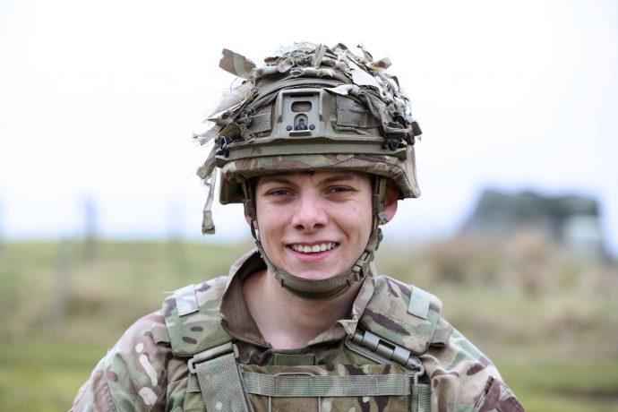 Reservist Jeremy Turner