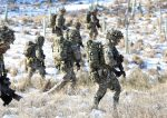Army reservists training in Warcop