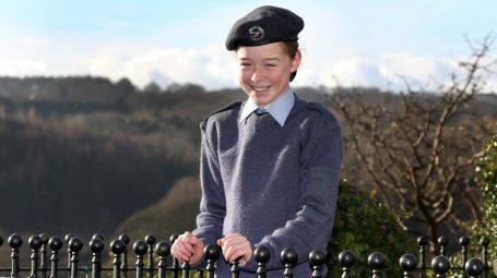 Air cadet Mya Larder