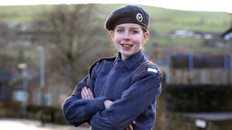 Air cadet Katie Asford