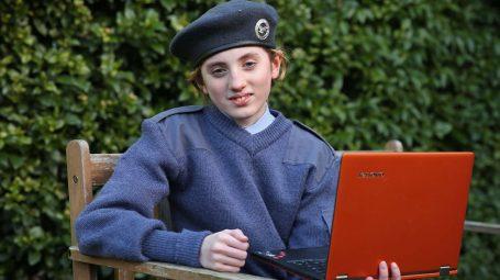 Ai cadet Emily Richards