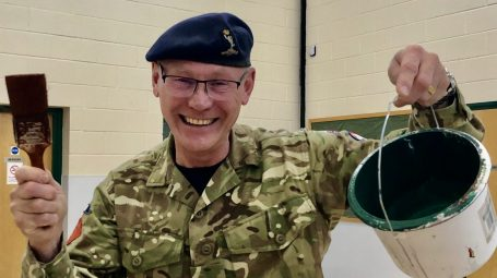 Richard Lenton new officer commanding with Beverley army cadets