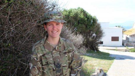 Adult cadet volunteer Liz Millard