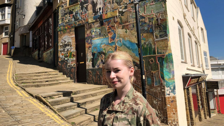 Cadet Rosie Nelson