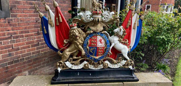 Crest of RFCA headquarters in York