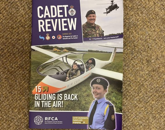 A copy of the Cadet Review
